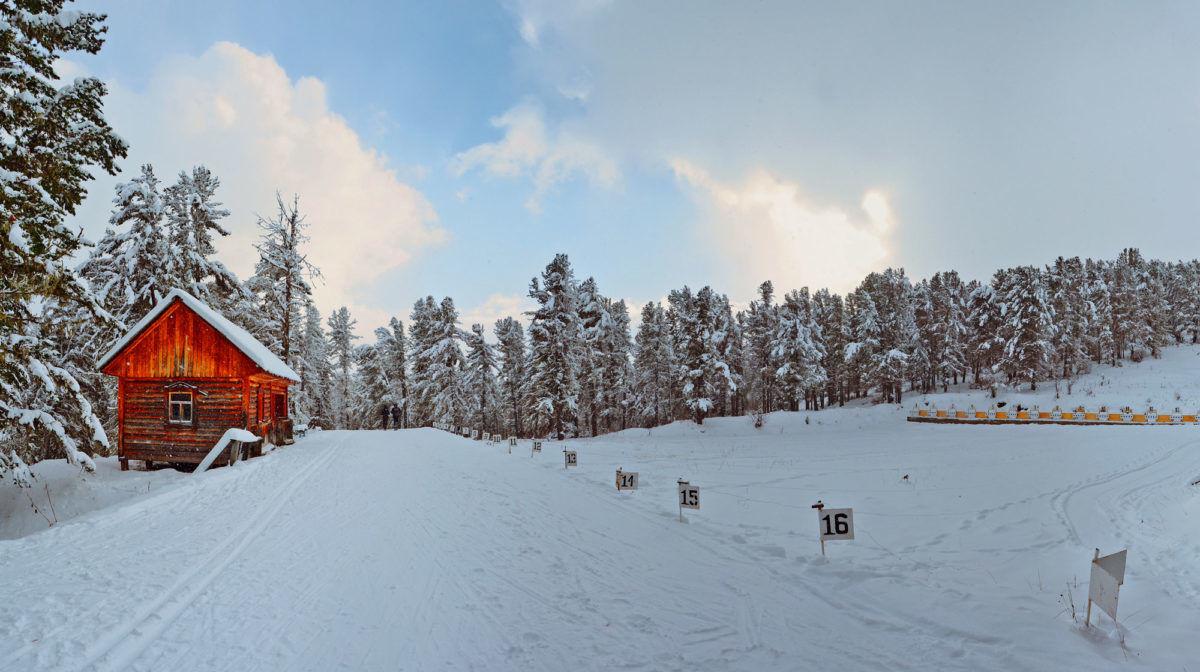 Biathlon field